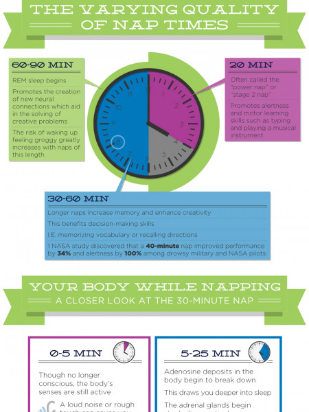 The Anatomy of a Nap Infographic