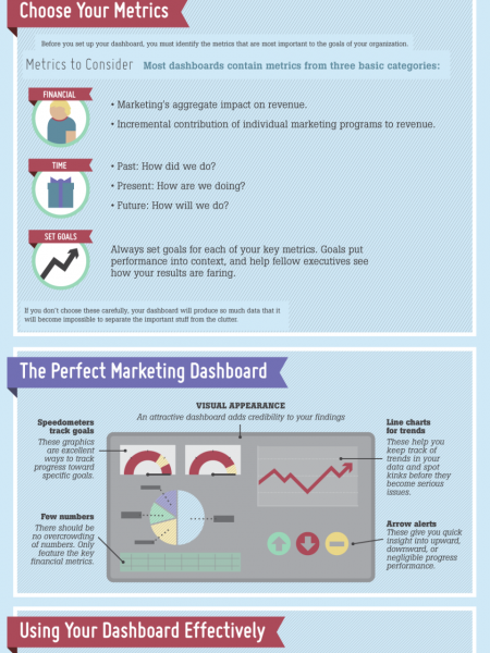 The Anatomy of a Perfect Marketing Dashboard Infographic
