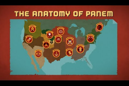 The Anatomy of Panem Infographic