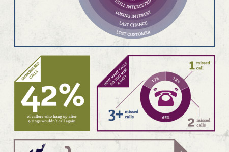 The Average Customer Call Timeline Infographic