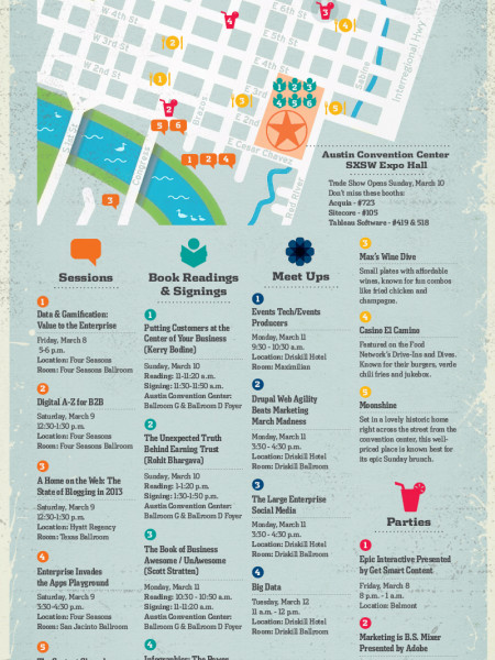 The B2B Marketer's Guide to SXSW Interactive 2013 Infographic