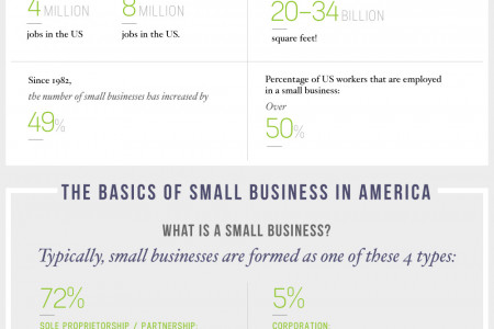 The Backbone of the American Economy – Small Business Statistics Infographic  Infographic