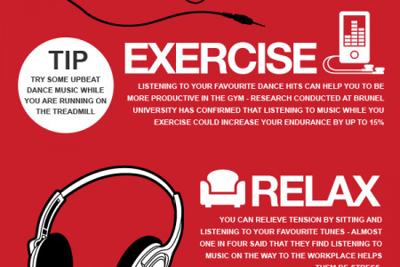 The Best Music Lifehacks by Lindy Headphones Infographic