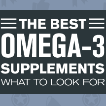 The best Omega-3 Supplements Infographic