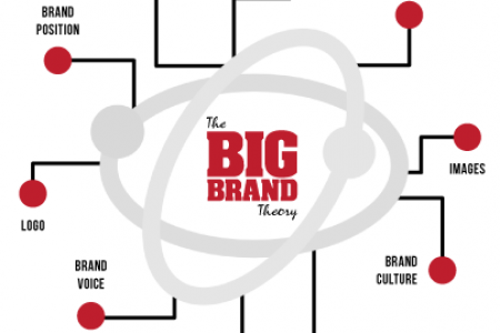 The Big Brand Theory  Infographic
