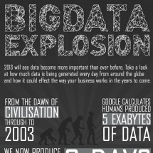 The Big Data Explosion Infographic
