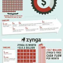 The Biggest IPOs of 2011 Infographic