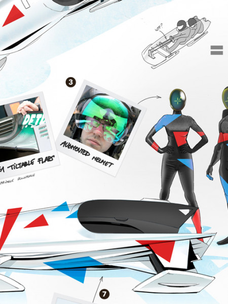 The Bobsled of the Future Infographic