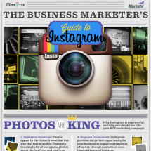 The Business Marketer's Guide to Instagram Infographic