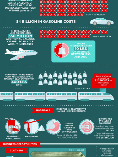 The Business of Obesity Infographic
