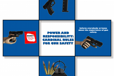 The Cardinal Rules in Owning A Gun Infographic