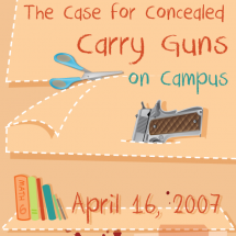 The Case for Concealed Carry Guns on Campus Infographic