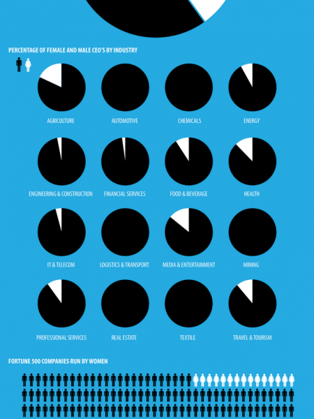 The CEO Gender Gap Infographic
