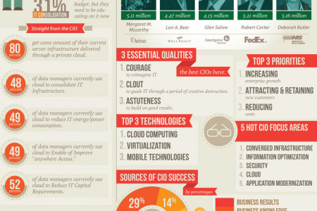 The Changing Role of the CIO Infographic