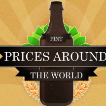 The cheapest beer in the world and other pint-sized facts Infographic