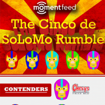 The Cinco de SoLoMo Rumble  Infographic