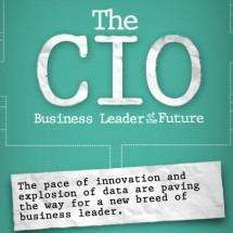 The CIO: Business Leader of the Future Infographic