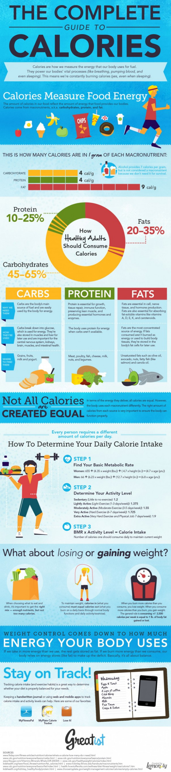 The Complete Guide to Calories Infographic