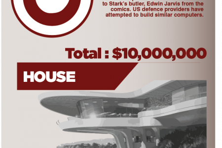 The cost of being ironman Infographic