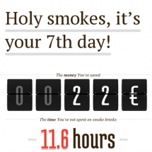 The costs of smoking Infographic