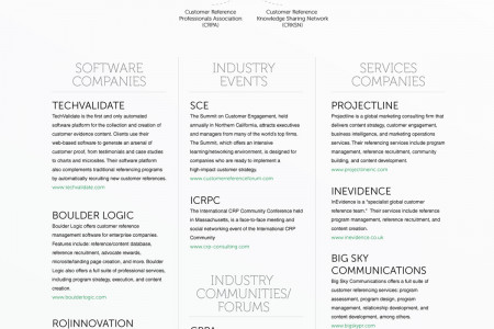 The Customer Evidence Ecosystem Infographic