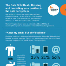The Data Gold Rush: Growing and protecting your position in the data ecosystem Infographic