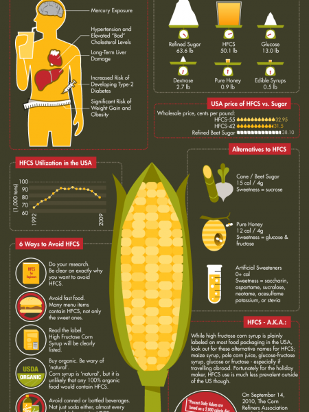 The Deception and Dangers of HFCS  Infographic