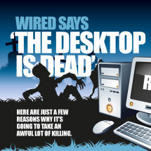 The Desktop Is Dead? Infographic