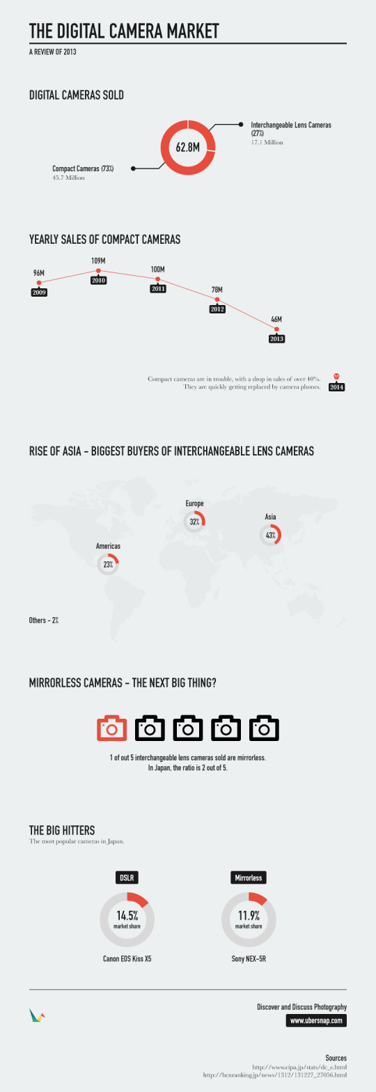 The Digital Camera Market in 2013