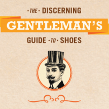 The Discerning Gentleman's Guide to Shoes Infographic
