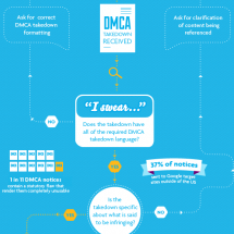 The DMCA Process Infographic