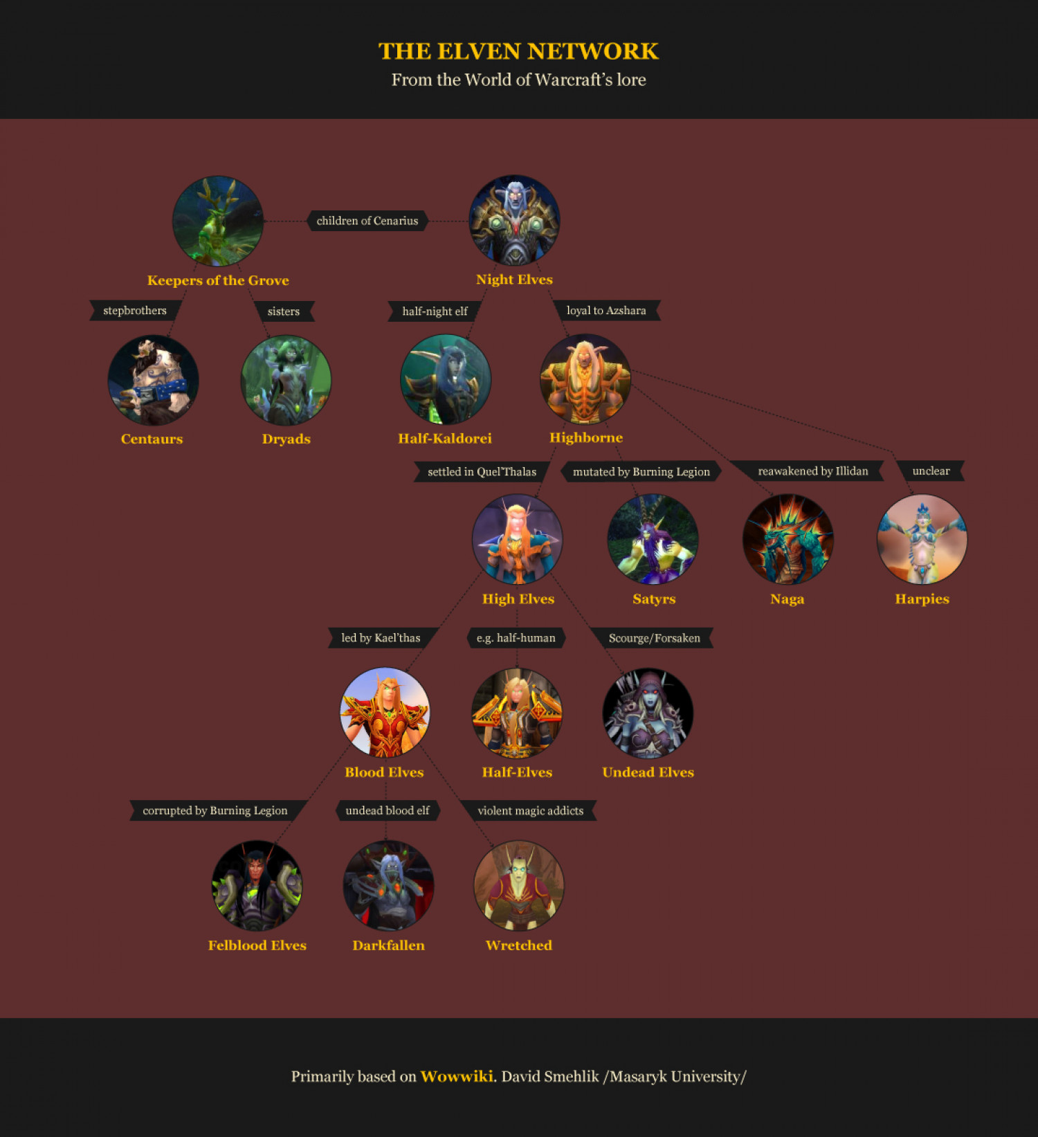 The Elven Network Infographic