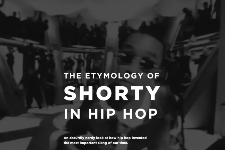The Etymology of Shorty in Hip Hop Infographic