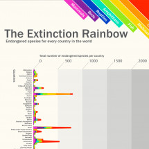 The Extinction Rainbow Infographic