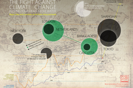 The Fight Against Climate Change Infographic