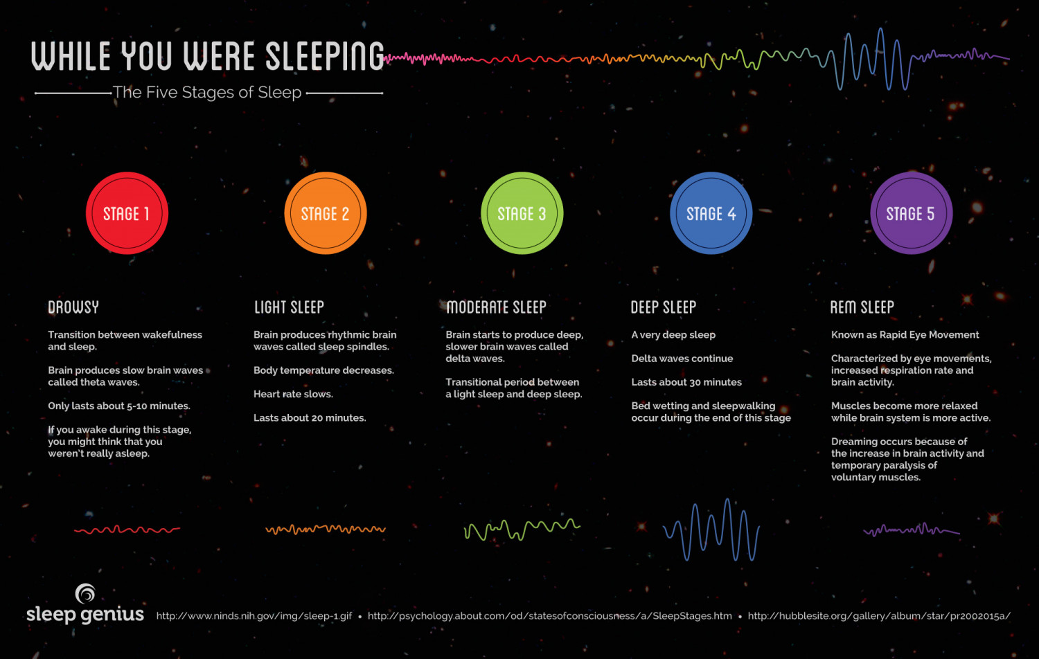 While You Were Sleeping Infographic