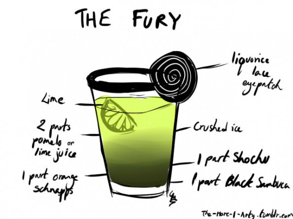The Fury Cocktail Infographic