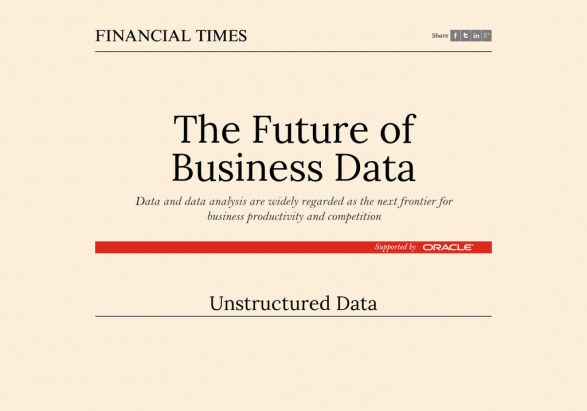 The Future of Business Data