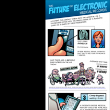 The future of Electronic Medical Records Infographic
