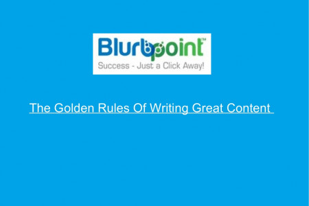 The Golden Rules Of Writing Great Content Infographic