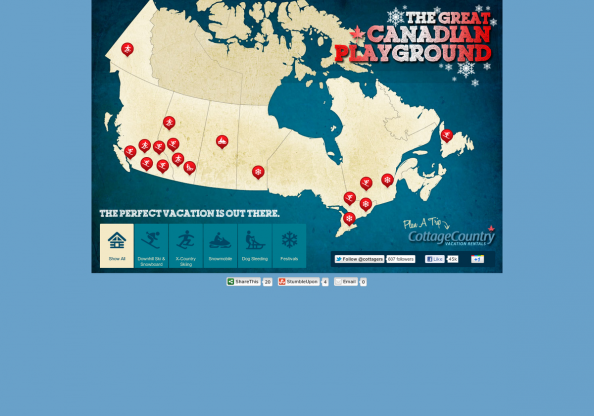 The Great Canadian Playground Infographic