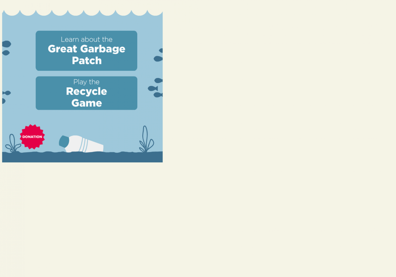 The Great Pacific Garbage Patch Infographic
