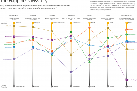 The Happiness Mystery Infographic