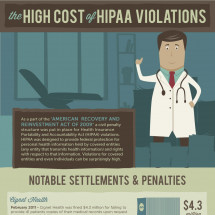 The High Cost of HIPAA Violations Infographic