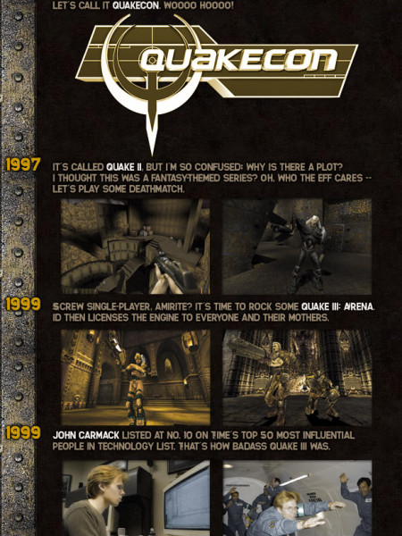 The History of id Software Infographic