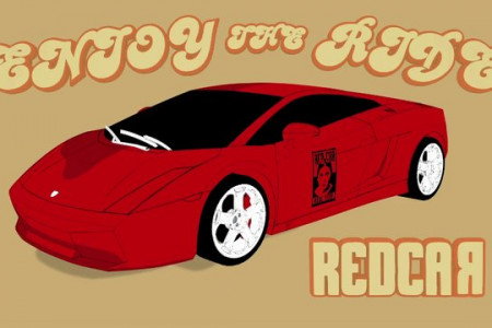 The History of Red Car Infographic