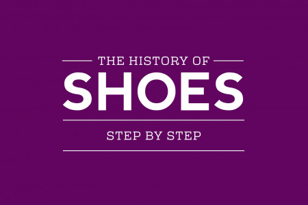 The History of Shoes Infographic