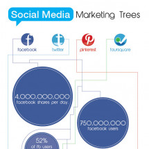 The Impact of Social Media Infographic