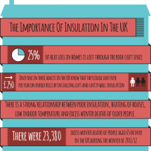 The Importance Of Insulation In The UK Infographic