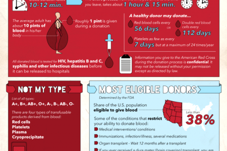 The Ins and Outs of Blood Donation Infographic